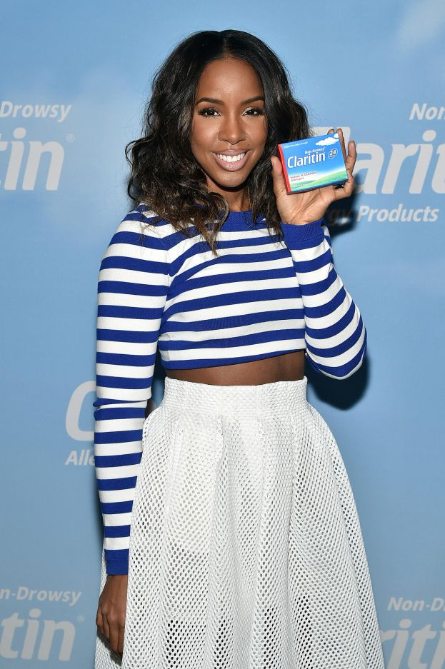 Kelly Rowland kicks off Spring with Claritin in NYC