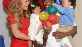 Nick Cannon Hosts 'Family Day'
