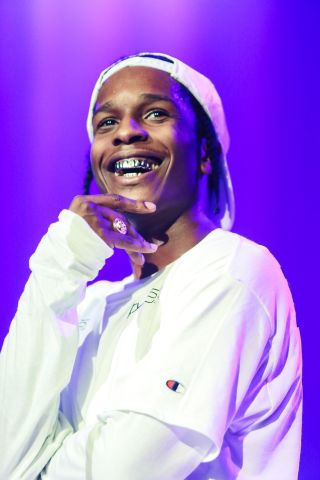 A$ap Rocky Performs In London