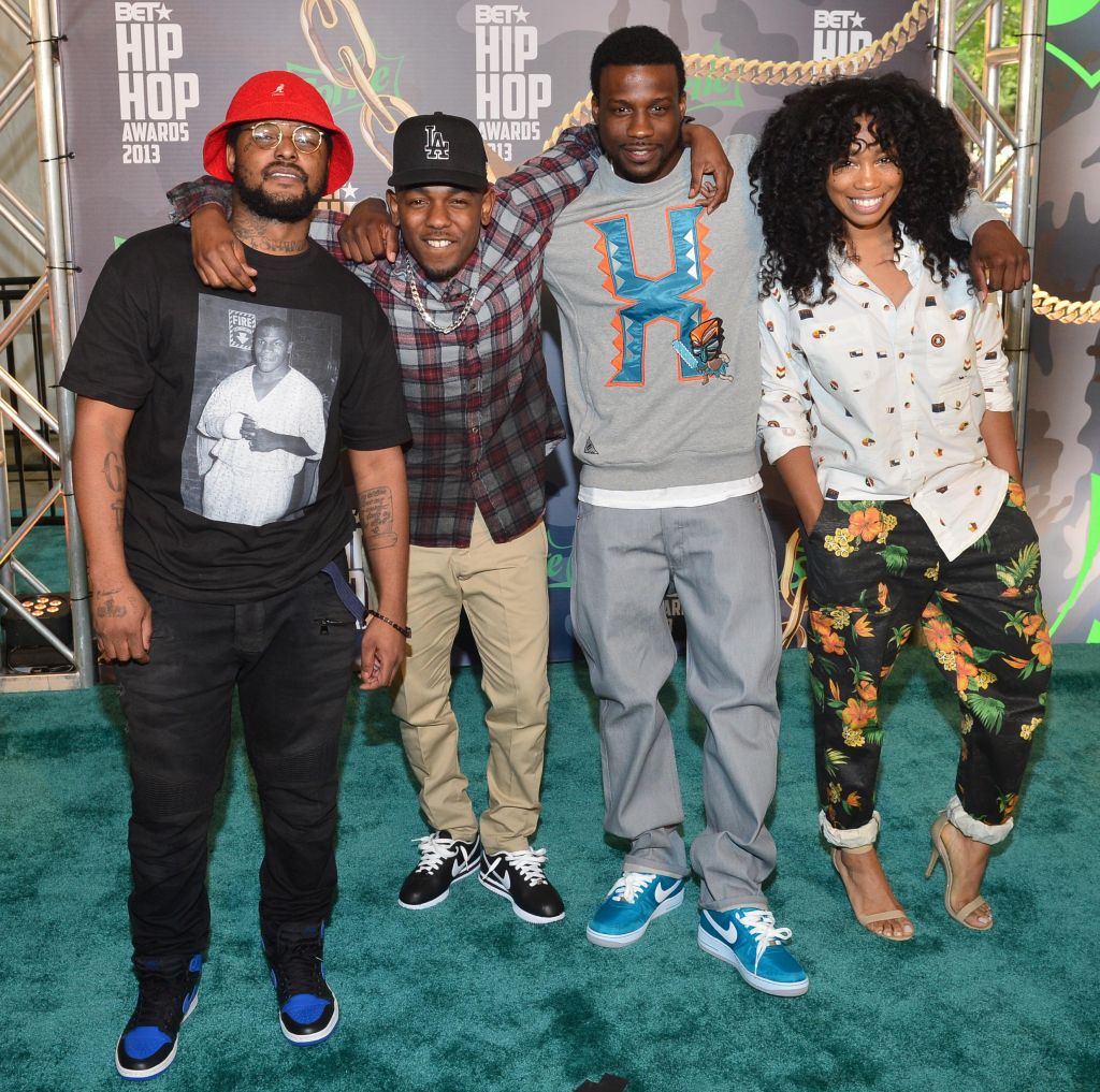 BET Hip Hop Awards 2013 - Arrivals TDE
