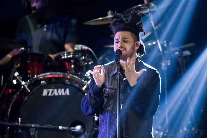 The Weeknd has always said that Prince has been a huge influence on their vocal sound