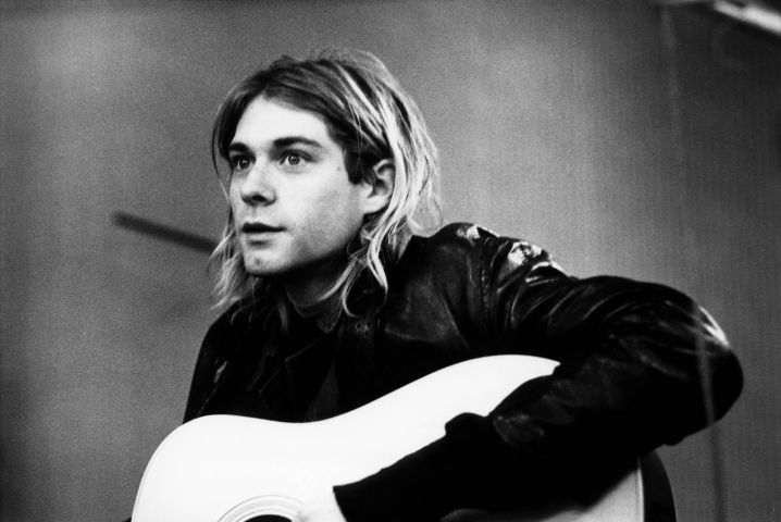Photo of Kurt COBAIN and NIRVANA