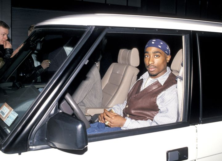 Tupac was a really big fan of actor Jim Carrey.
