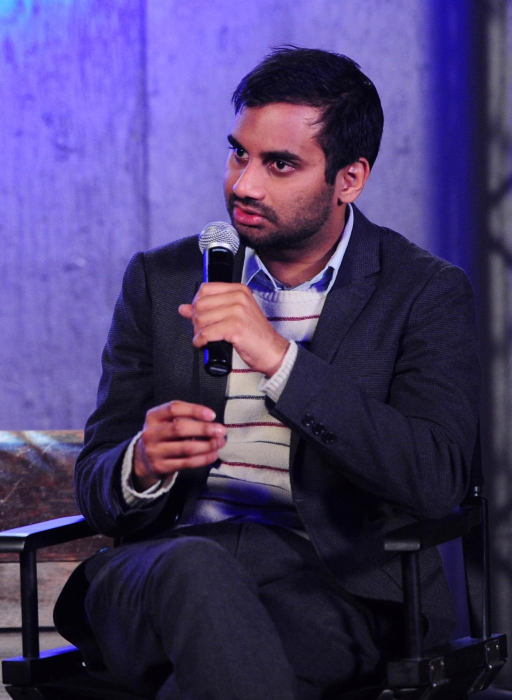The Bing Speaker Series with Aziz Ansari At The Bing Bar - 2012 Park City