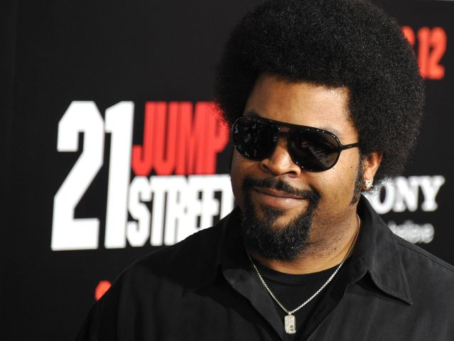 Actor and musician Ice Cube arrives for