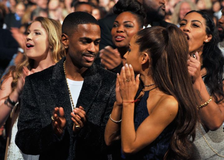 "Big Sean admires his woman at ""Stevie Wonder: Songs In The Key Of Life."""