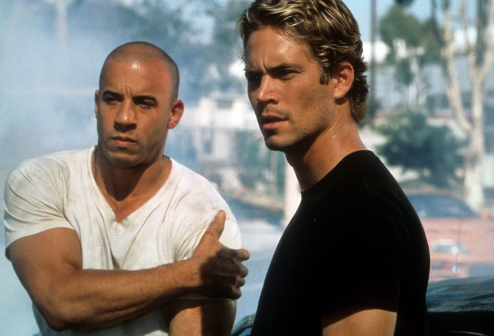 """Paul Walker and Vin Diesel in """"The Fast and the Furious."""" (2001)"""