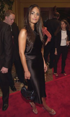 Jordana Brewster arrives at the world premiere of Universal Pictures'' 'The Fast and the Furious'