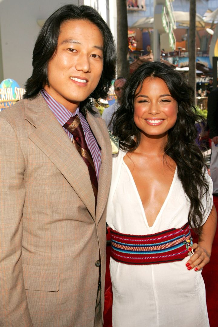 """Sung Kang and Nathalie Kelley at the premiere of """"The Fast and the Furious 3: Tokyo Drift."""" (2006)"""