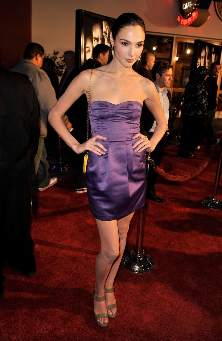 """Gal Gadot at the premiere of """"Fast & Furious."""" (2009)"""
