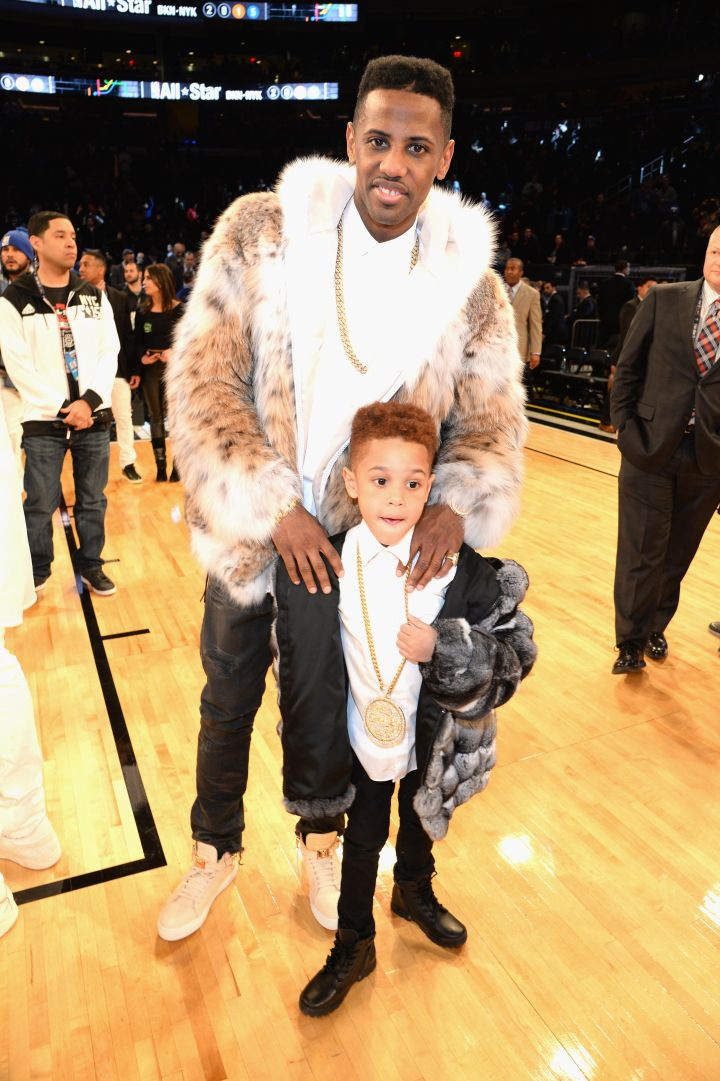 When you flossin' at the NBA All-Stars like a Young OG.