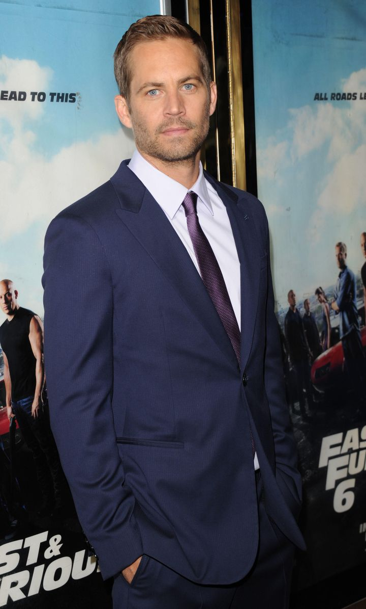 Paul Walker (age 40): died in a single-vehicle collision in 2013.