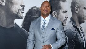 Dwayne Johnson attends Universal Pictures' 'Furious 7'