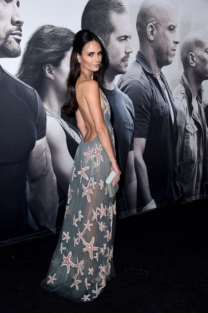 "Jordana Brewster at the ""Furious 7"" premiere. (2015)"
