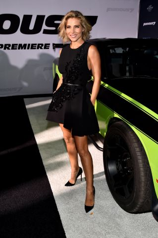 Elsa Pataky attends Universal Pictures' 'Furious 7' premiere