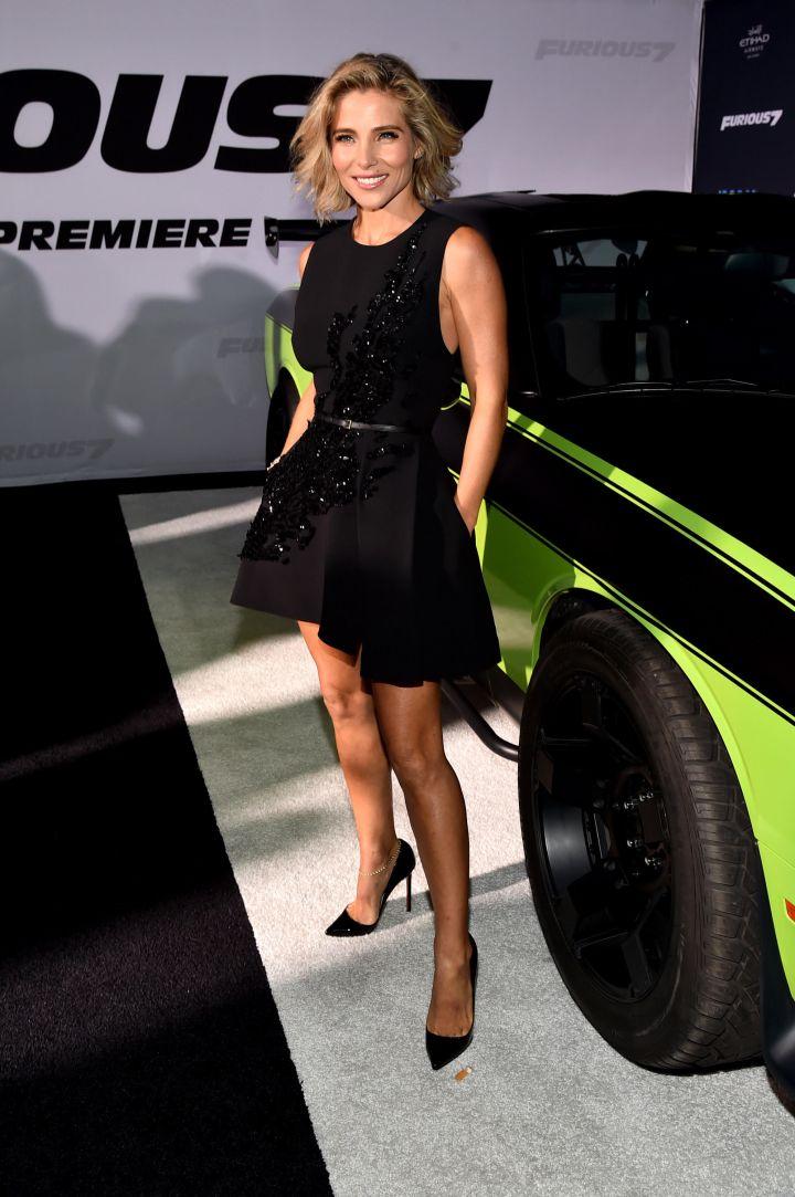 "Elsa Pataky at the ""Furious 7"" premiere. (2013)"
