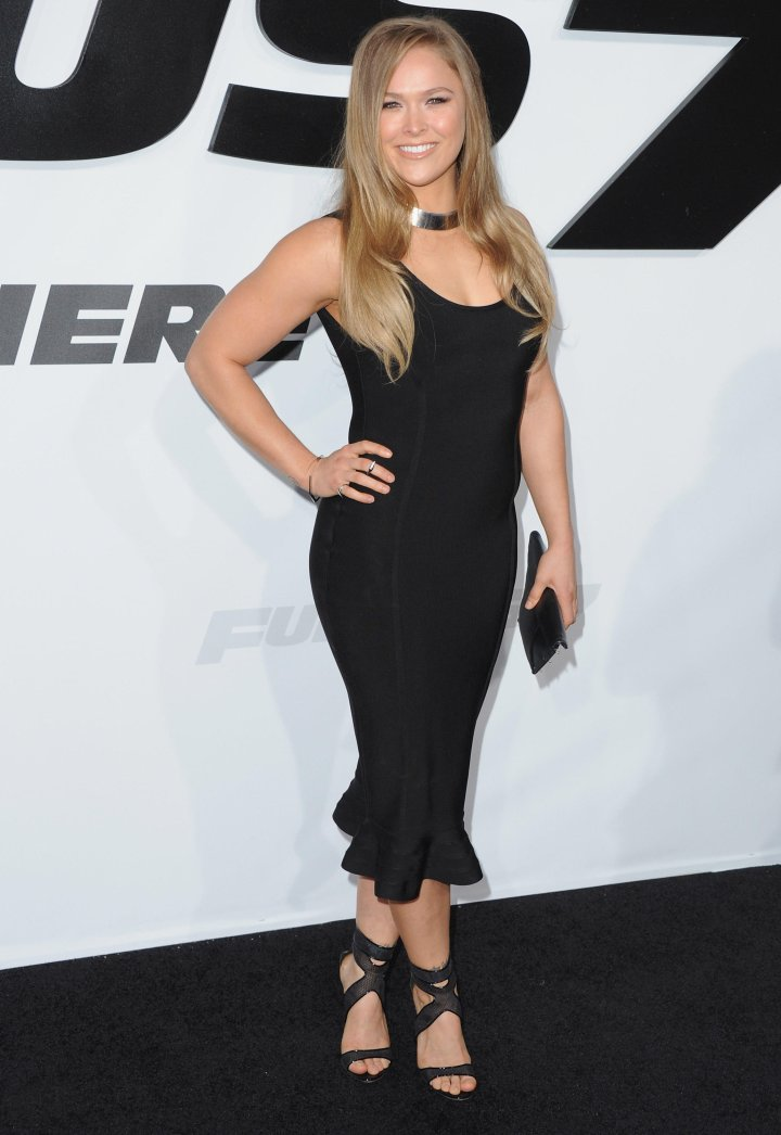 UFC fighter Ronda Rousey