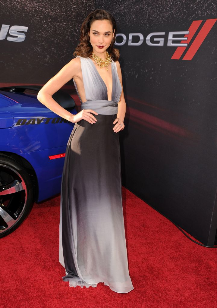 """Gal Gadot at the """"Fast & Furious 6"""" premiere. (2013)"""