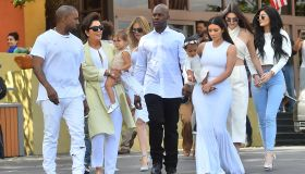 The Kardashians on Easter