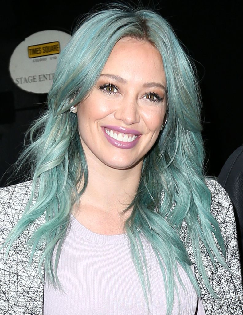 Hilary Duff new hairstyle.