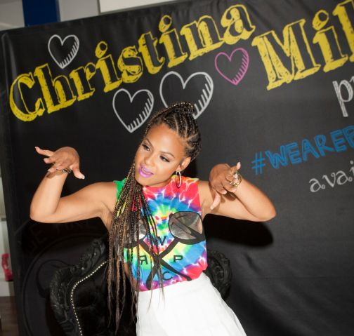 Christina Milian launch Party