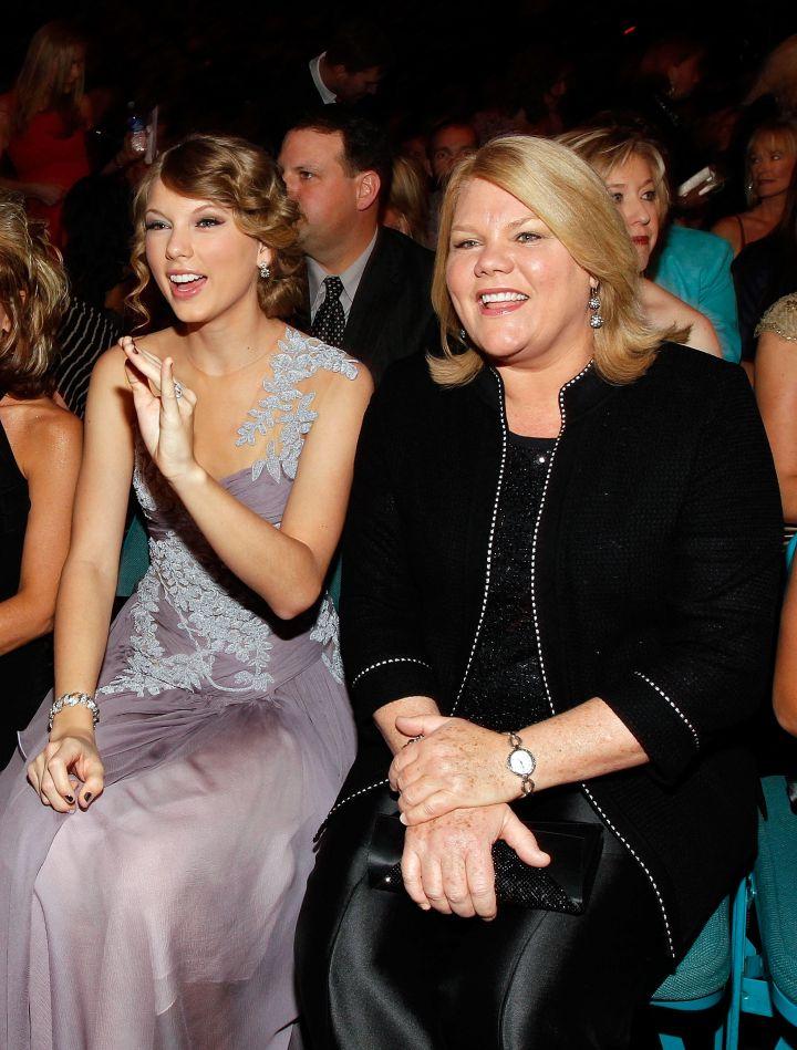 Sitting front row at award shows.