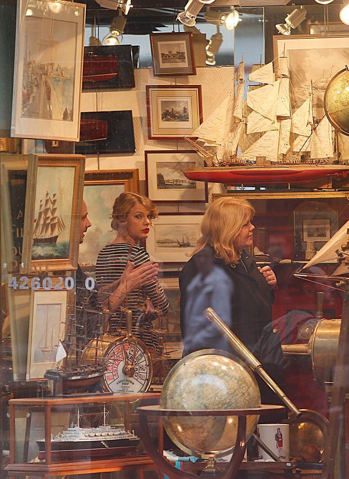 Parisian Shopping Spree.