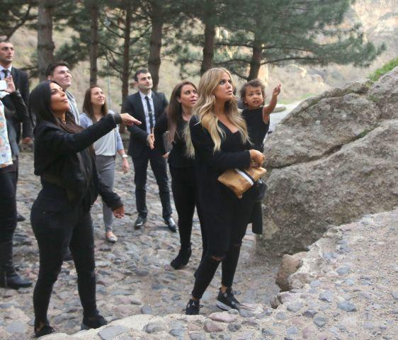 Kardashians in Armenia