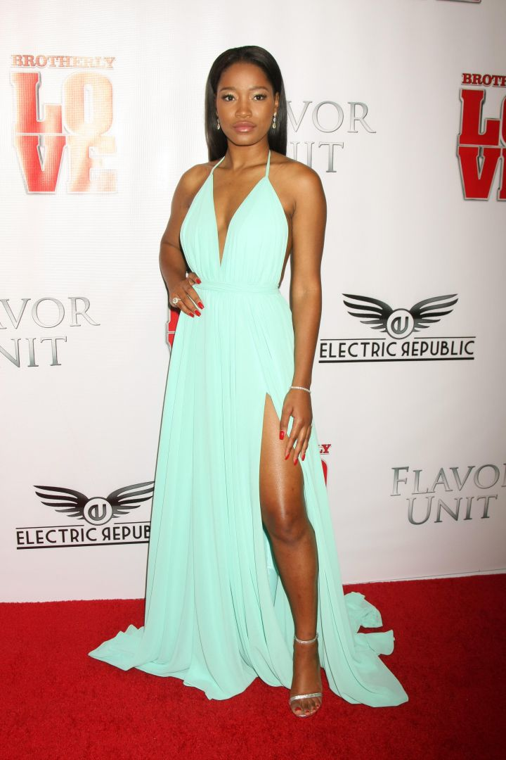 "Keke Palmer's glowing skin was in mint condition at the Los Angeles ""Brotherly Love"" premiere."