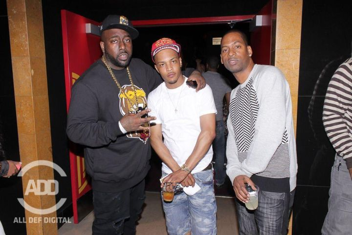 Trae Da Truth, T.I, Tony Rock at all def comedy show