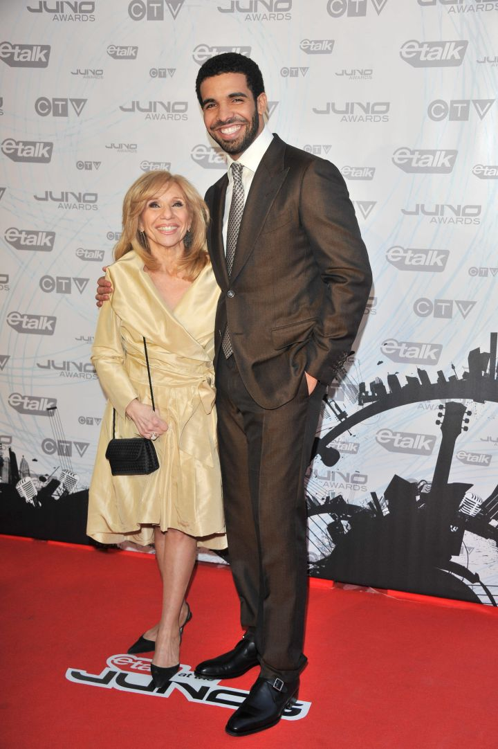 Drizzy's mom Sandi Graham is the cutest thing walking.