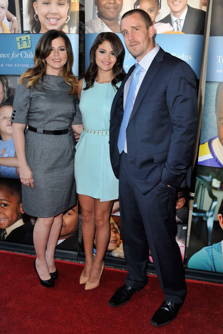 Selena Gomez's mom and stepfather, Mandy and Brian Teefey, make a beautiful couple.