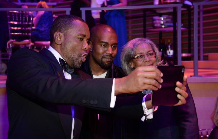 """Selfie time with the director of """"Empire,"""" Lee Daniels."""