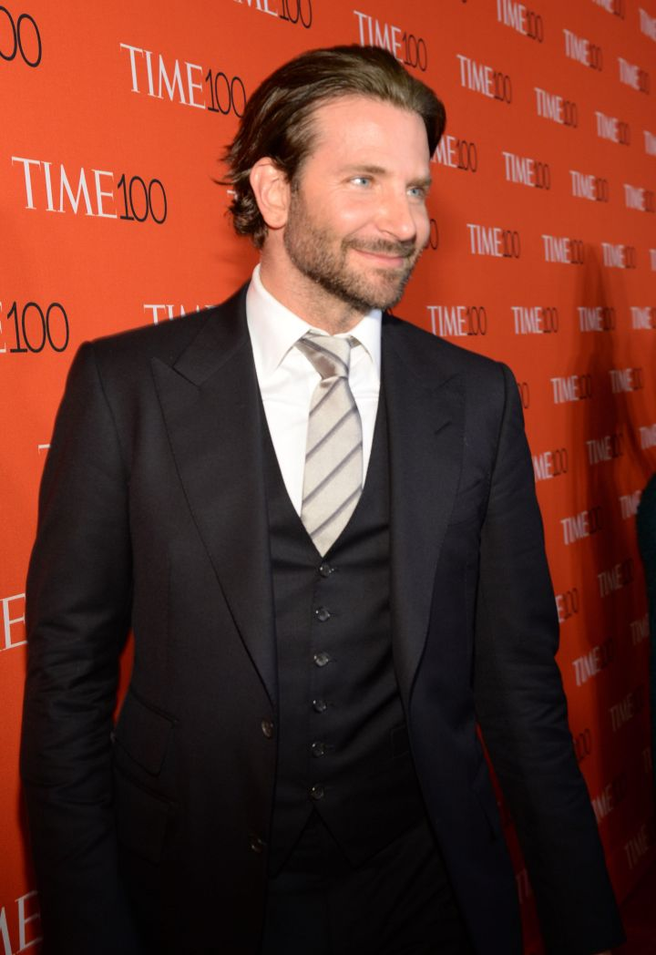 As usual, Bradley Cooper cleaned up nice.