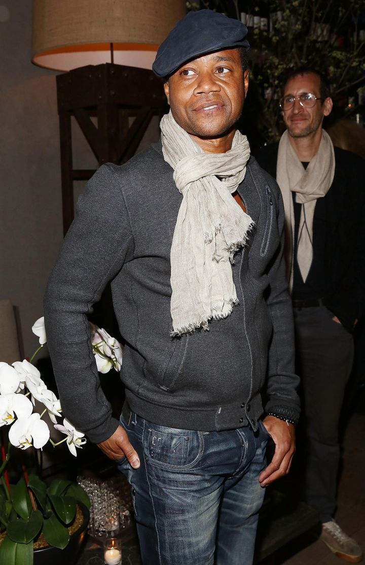 """Cuba Gooding Jr. attends Lionsgate & Roadside Attractions' after party for the Tribeca Film Festival world premiere of """"Maggie"""" at Tutto II Giorno."""