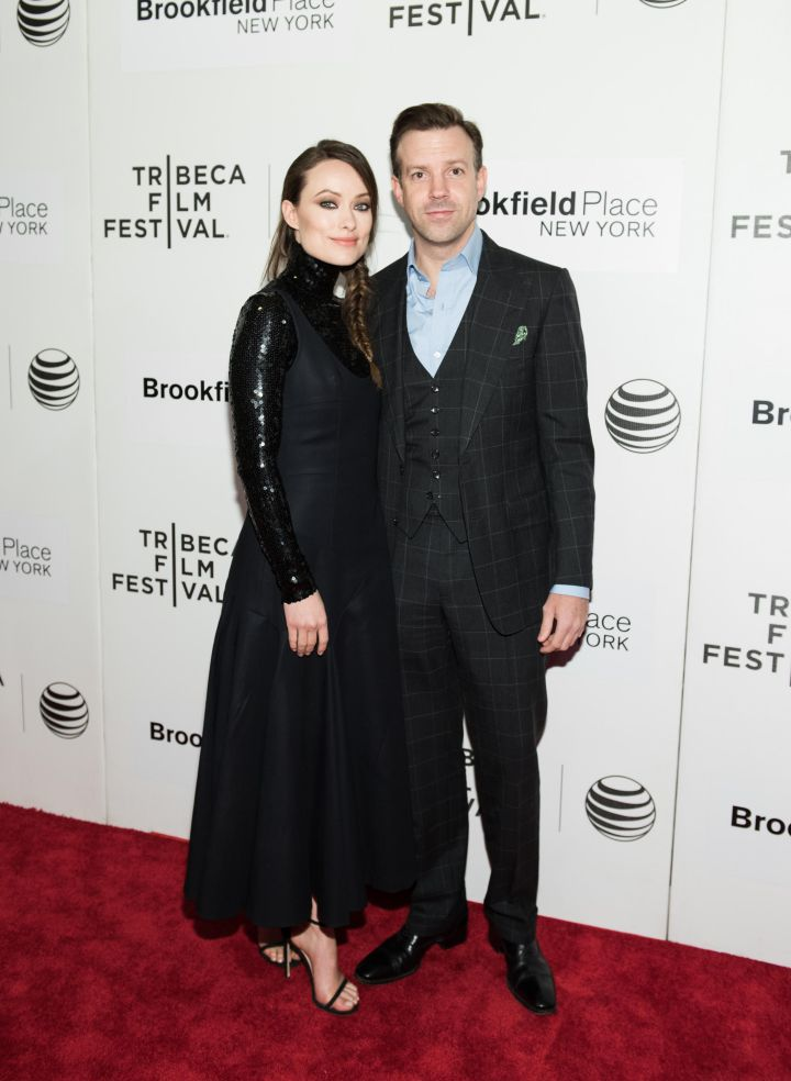 Olivia Wilde and Jason Sudeikis keep it classy at the Tribeca Film Festival in New York City.