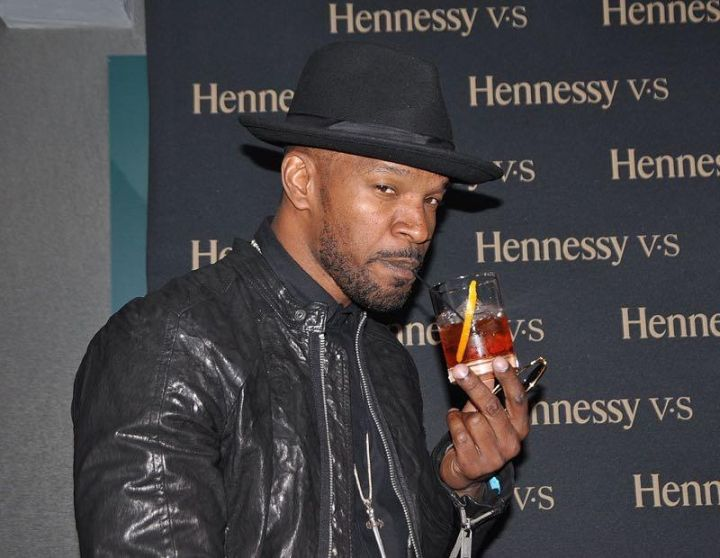 """Hennessy V.S presented an evening with Jamie Foxx at the W hotel in D.C., where Jamie shared his story to the intimate crowd about naming his album """"Hollywood."""""""