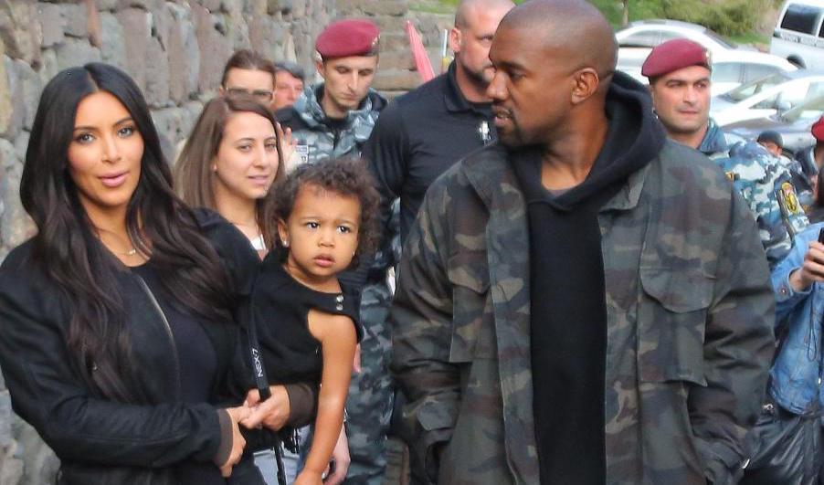 Kim Kardashian Kanye West North West in Armenia Featured Image