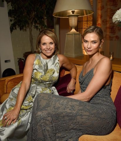 Karlie Kloss and Katie Couric