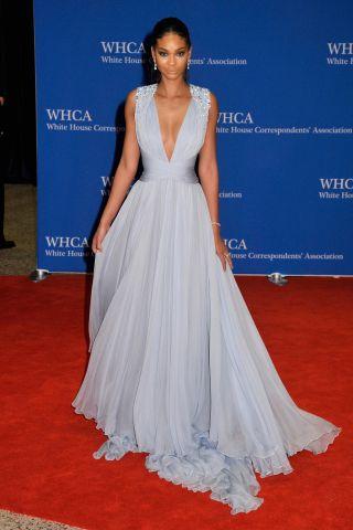 Chanel Iman attends White House Correspondent's Dinner