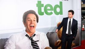 Mark Wahlberg Premiere Of Universal Pictures' 'Ted'