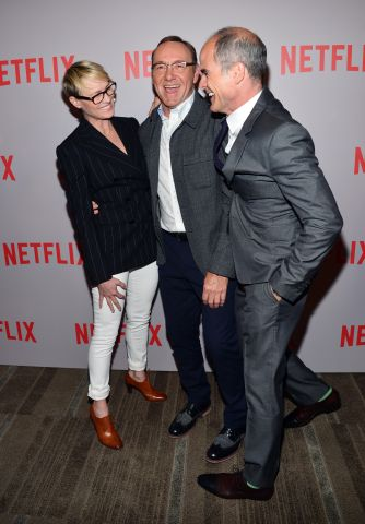 Robin Wright, Kevin Spacey and Michael Kelly