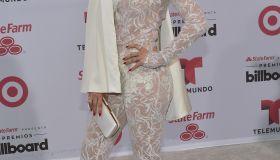 Celebrity arrivals at the Billboard Latin Music Awards