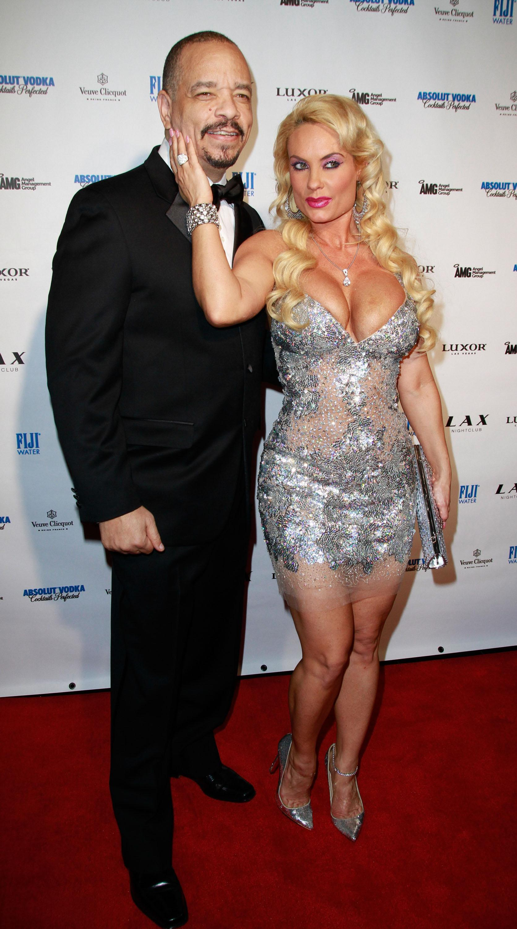 Ice-T And Coco Host New Year's Eve At LAX Nightclub