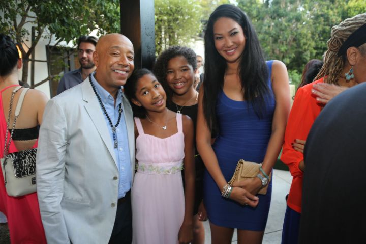 Russell Simmons Pays $40K A Month For His Daughters Ming & Aoki Lee.