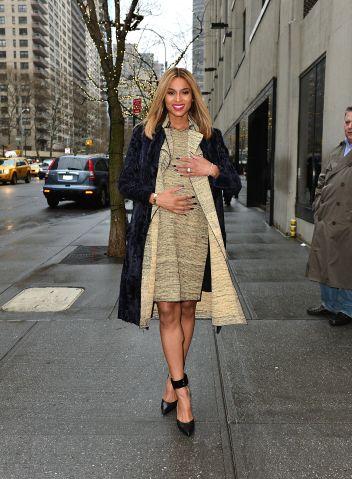 Celebrity Sightings In New York City - January 14, 2014