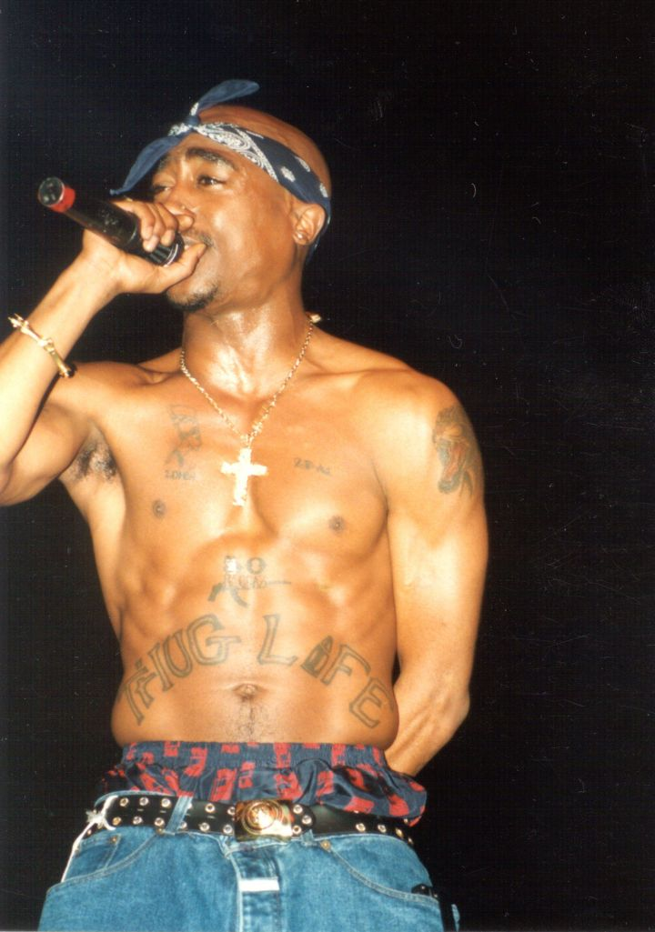 "Tupac reportedly had sex with almost all of the women in his x-rated music video ""How Do U Want It,"" then passed out from exhaustion."