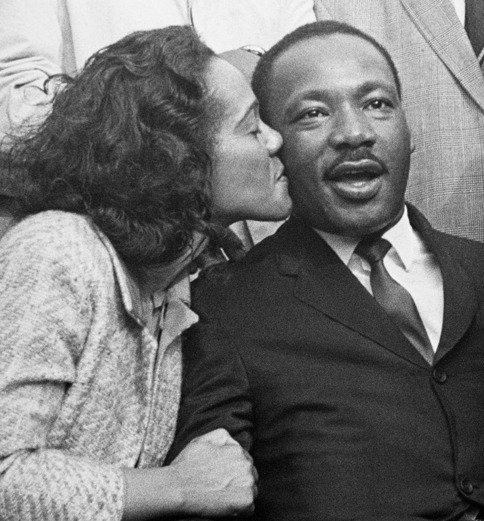 Coretta Scott King and Martin Luther King Jr.