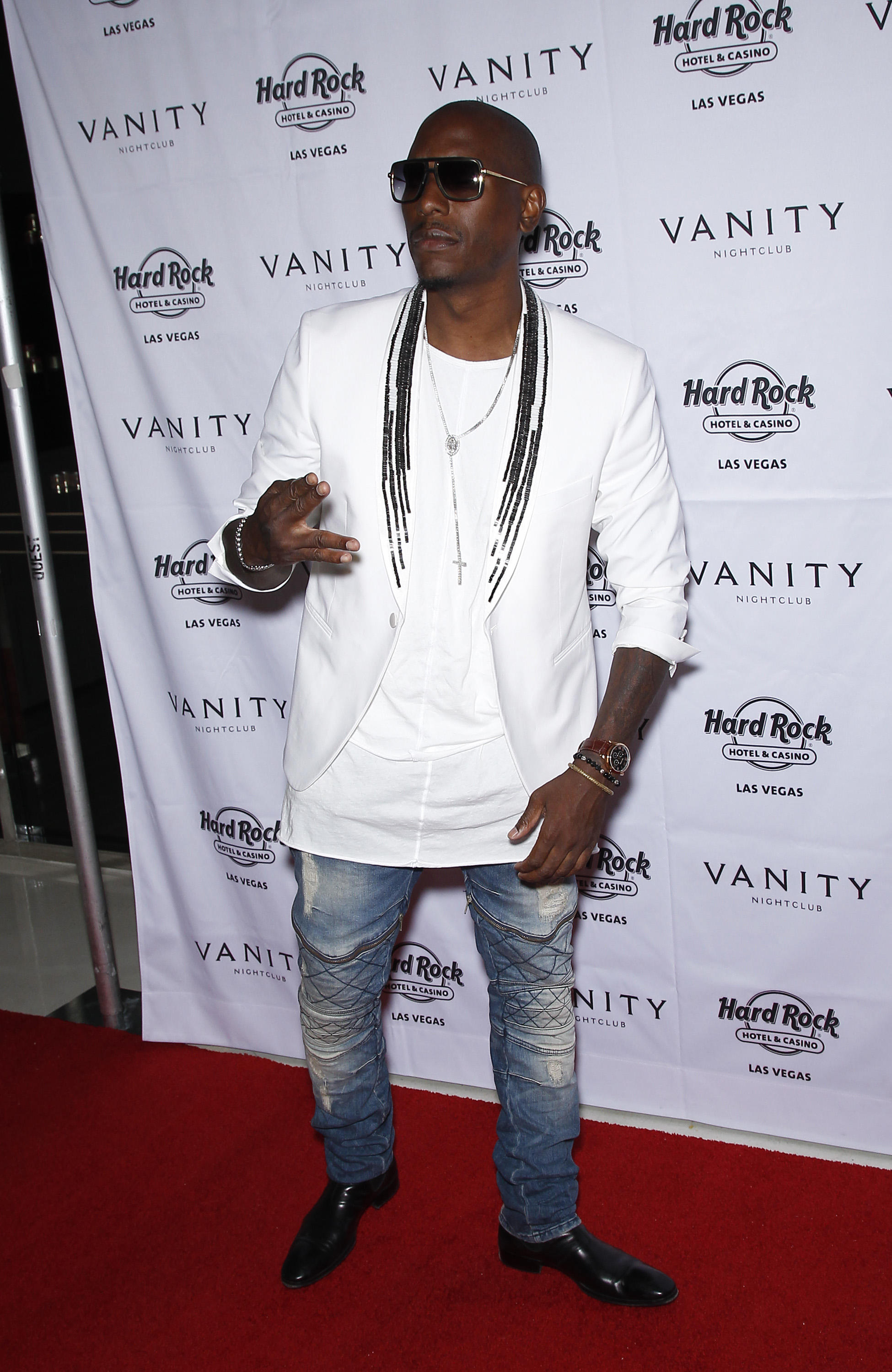 Tyrese hosts pre-fight party at Vanity Las Vegas Manny Pacquiao & Floyd Mayweather