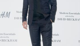 David Beckham Presents New H&M Collection in Madrid